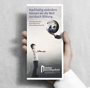 Münchener Universitätsgesellschaft – Flyer