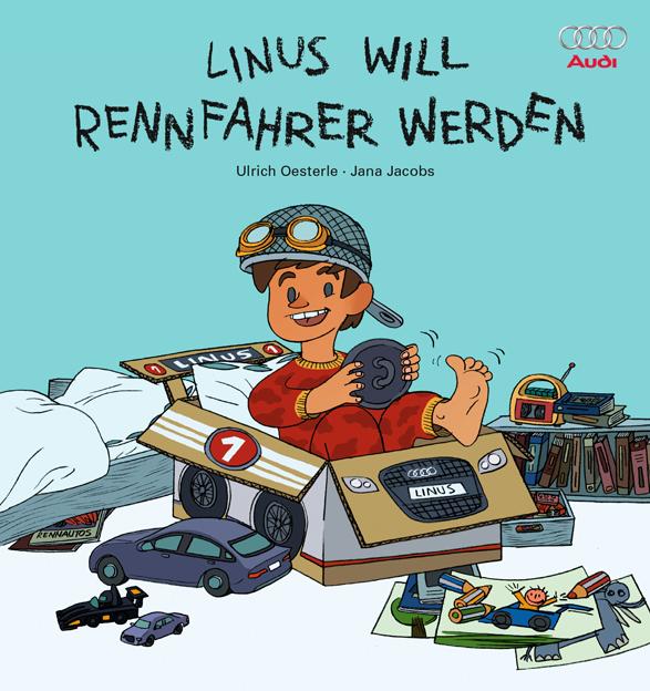 Linus will Rennfahrer werden