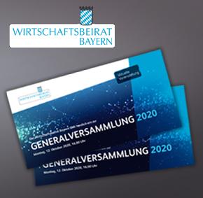 Wirtschaftsbeirat Bayern Flyer